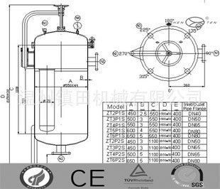 Cina Khusus Hydraulic Filter Housing Electrolytic Polishing ss304 / ss316 pabrik