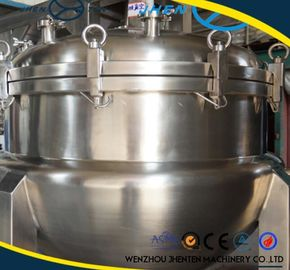 Cina 500L Stainless Steel Steam Jacketed Ketel Dengan Agitator CE Disetujui Distributor